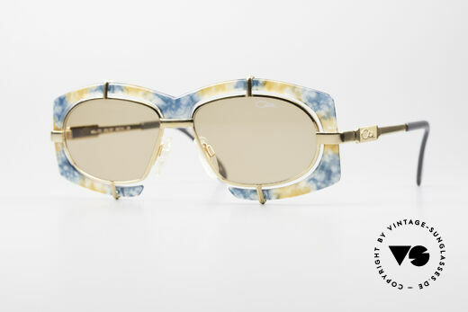 Cazal 872 Flashy Haute Couture Shades Details