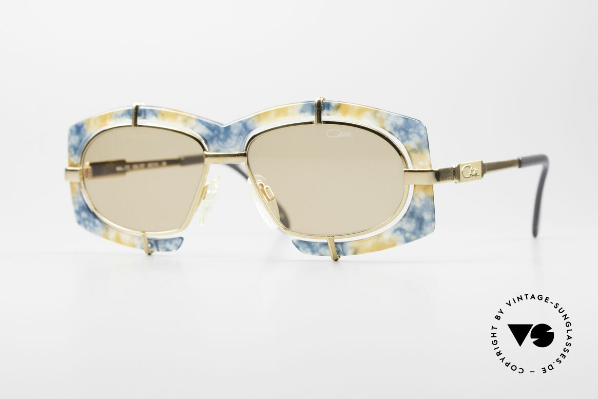 Cazal 872 Flashy Haute Couture Shades, crazy CAZAL designer sunglasses of the early 1990's, Made for Men and Women