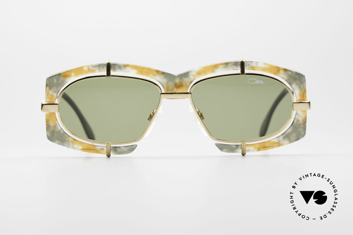 Cazal 872 Extraordinary 90's Shades, extravagant lens mounting & spunky frame coloring, Made for Men and Women
