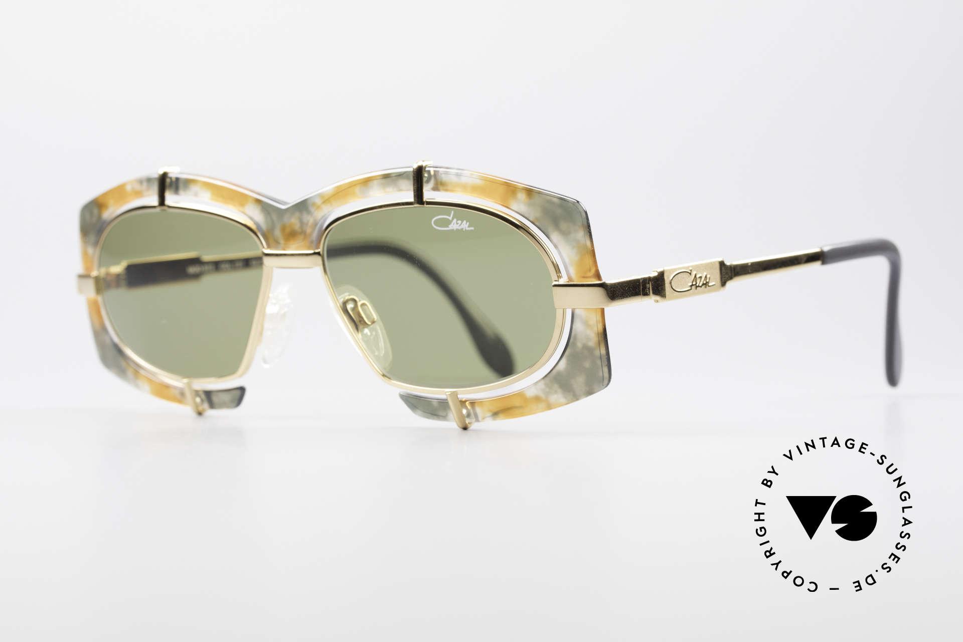Cazal 872 Extraordinary 90's Shades, flashy Haute Couture design; distinctive CAri ZALloni, Made for Men and Women