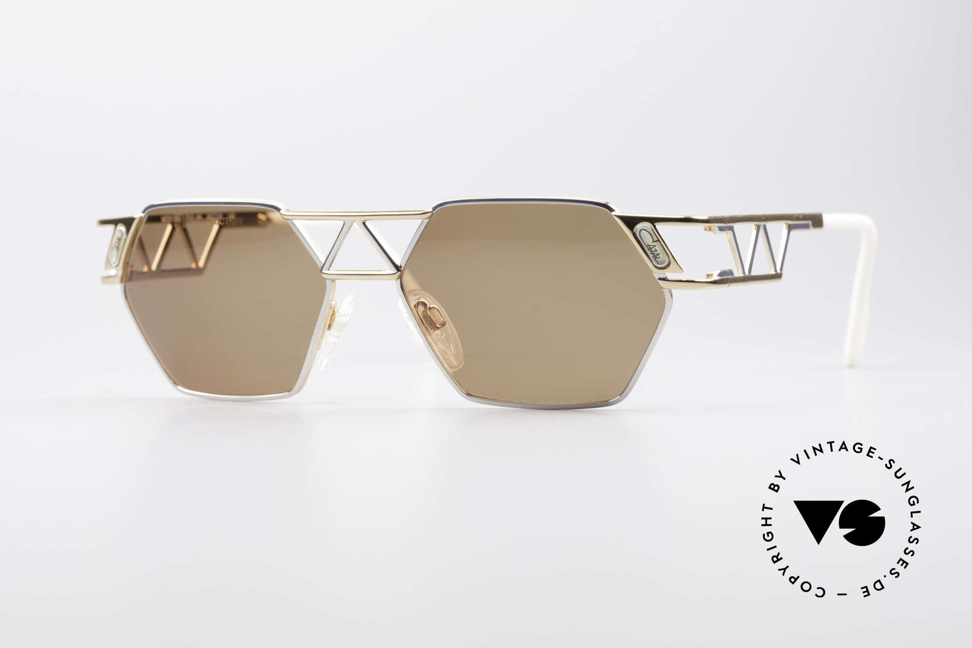 Cazal 960 90's Designer Sunglasses, angular Cazal designer sunglasses from app. 1994/95, Made for Men and Women