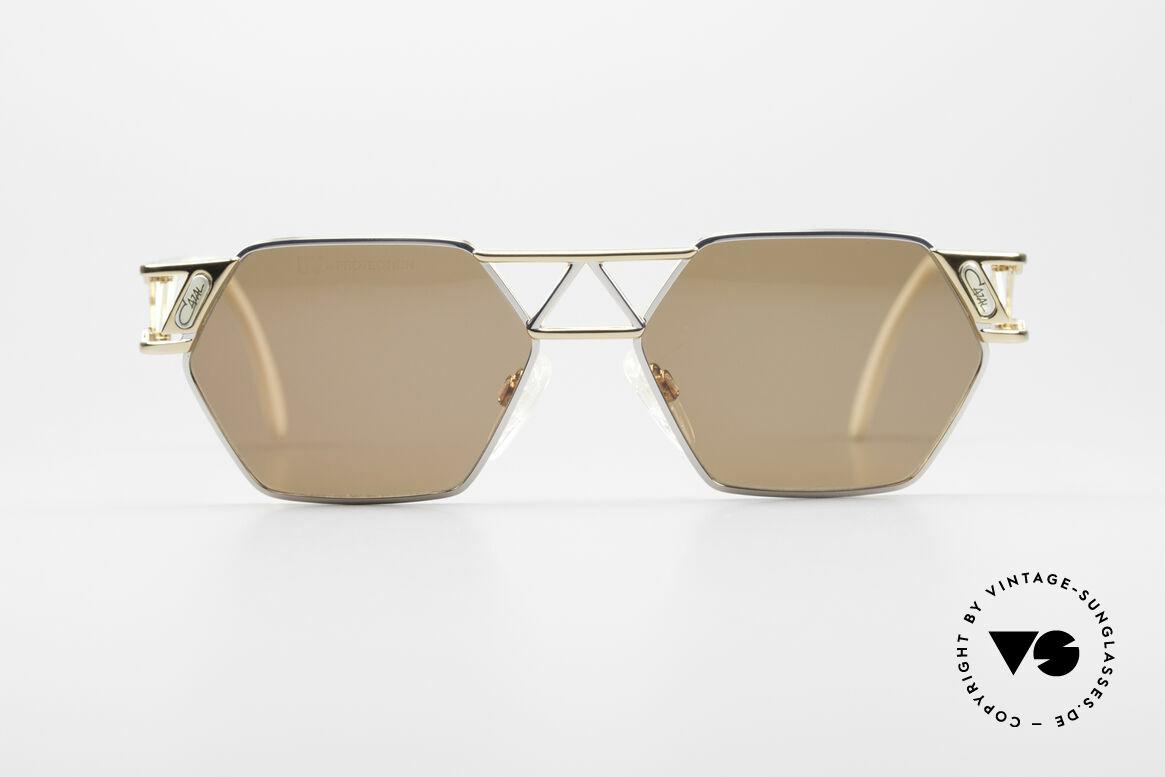 Cazal 960 90's Designer Sunglasses, immense lovely frame construction; Eiffel Tower Style, Made for Men and Women