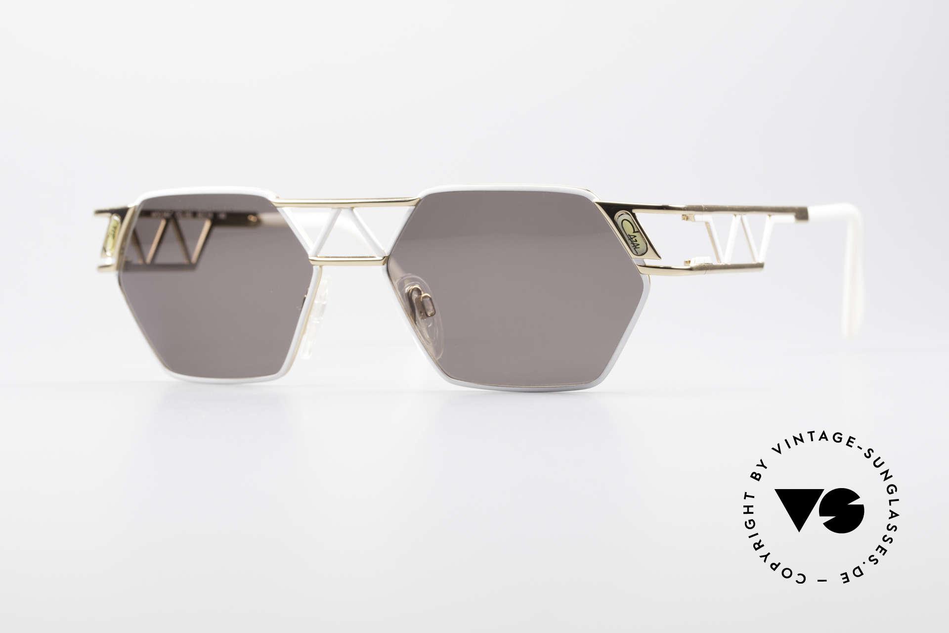 Cazal 960 Rare Designer Sunglasses, angular Cazal designer sunglasses from app. 1994/95, Made for Men and Women