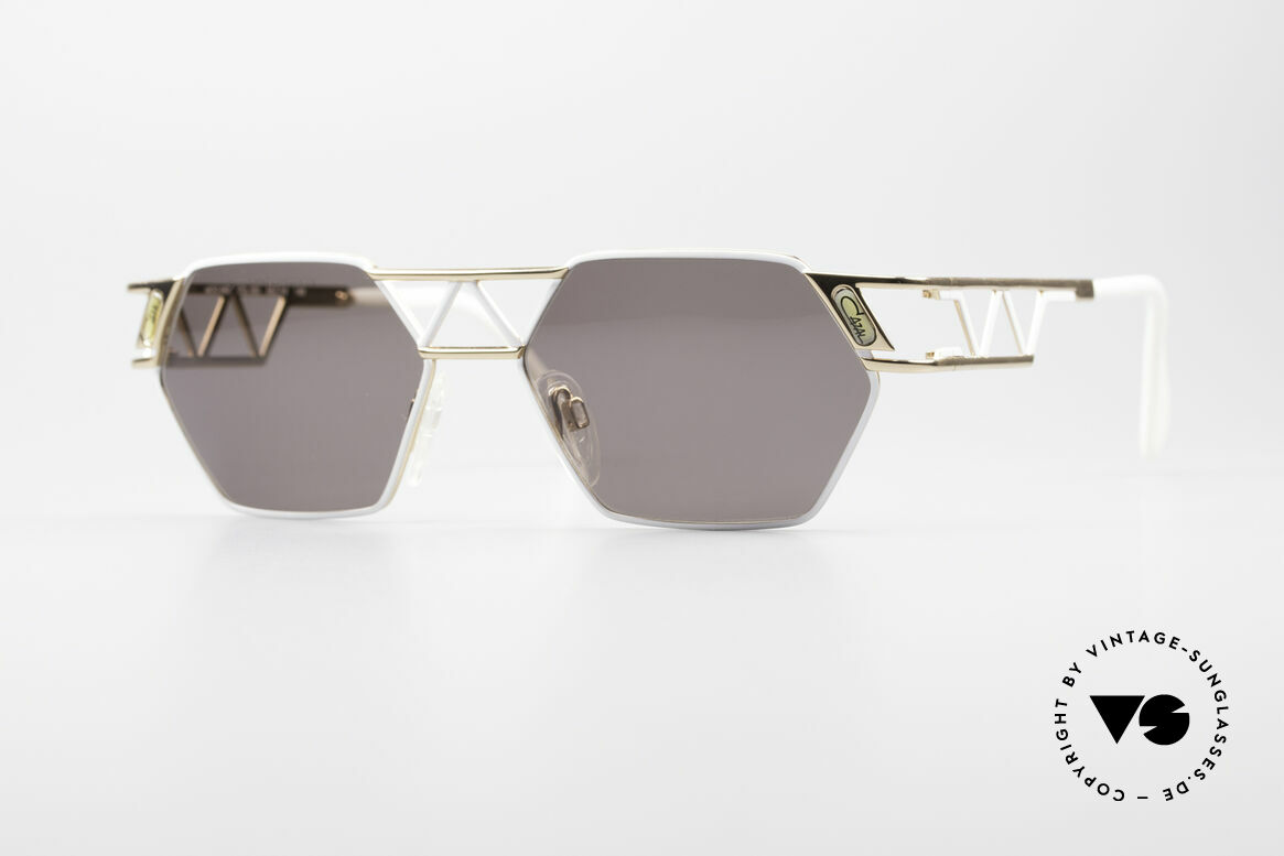 Cazal 960 Rare Designer Sunglasses, angular Cazal designer sunglasses from app. 1994/95, Made for Men and Women