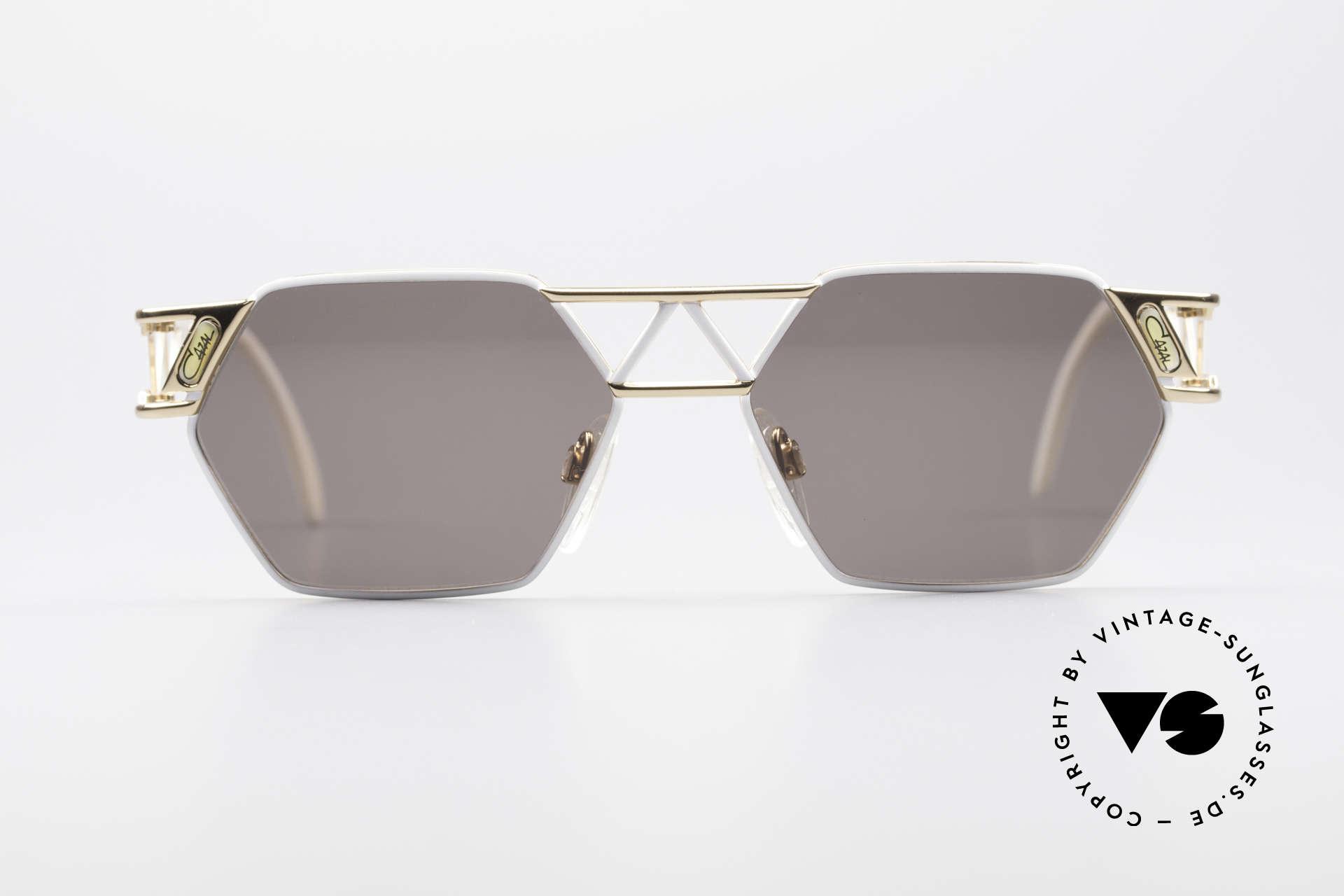 Cazal 960 Rare Designer Sunglasses, immense lovely frame construction; Eiffel Tower Style, Made for Men and Women