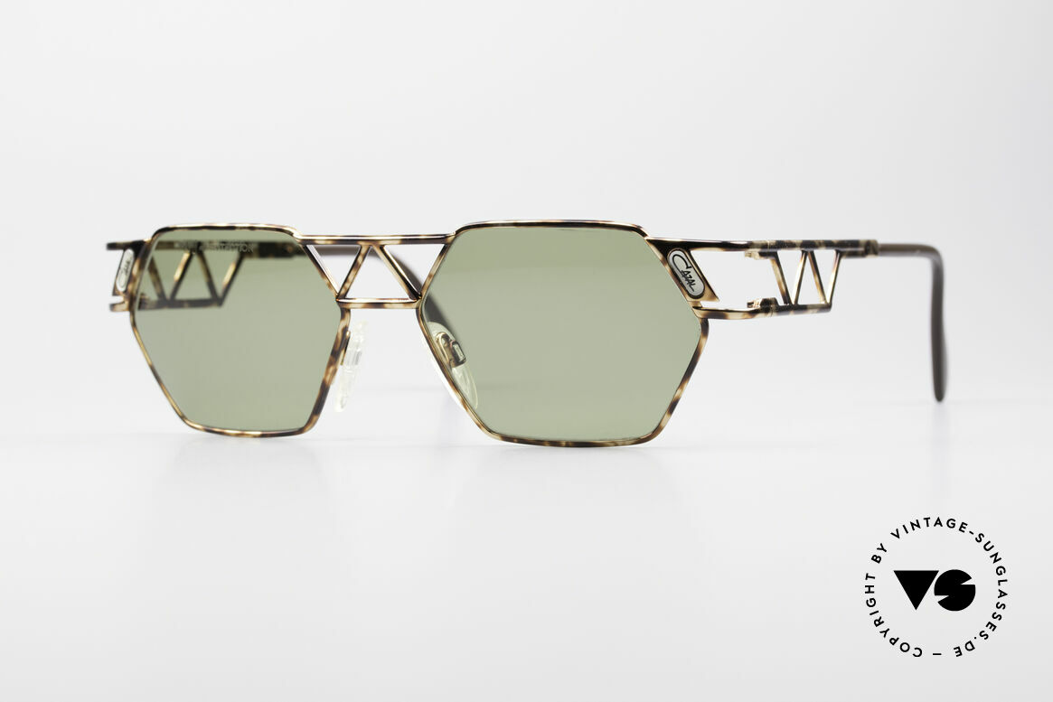 Cazal 960 Vintage Designer Sunglasses, angular CAZAL designer sunglasses from app. 1994/95, Made for Men and Women