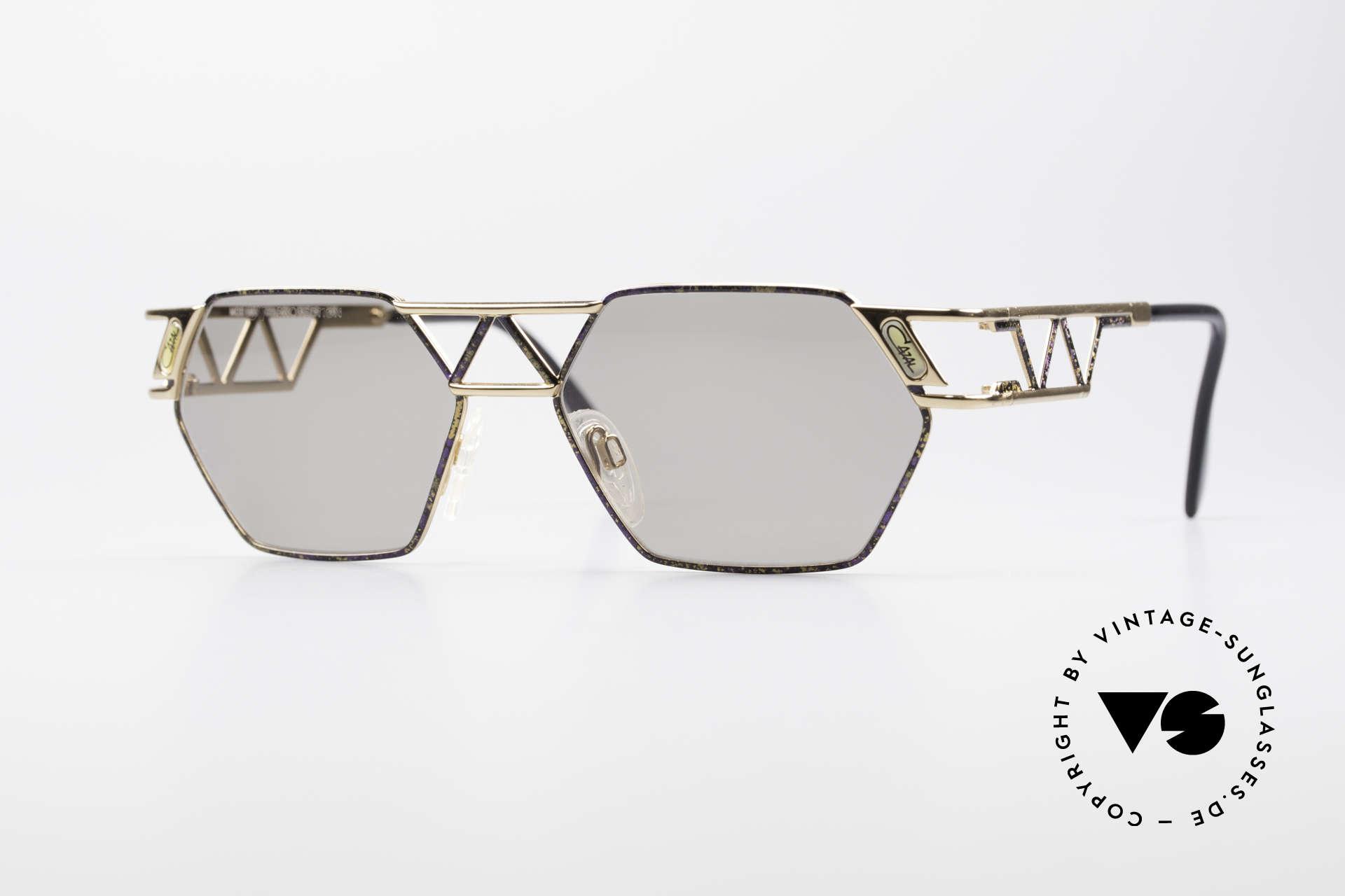 Cazal 960 Unique Designer Sunglasses, angular CAZAL designer sunglasses from app. 1994/95, Made for Men and Women