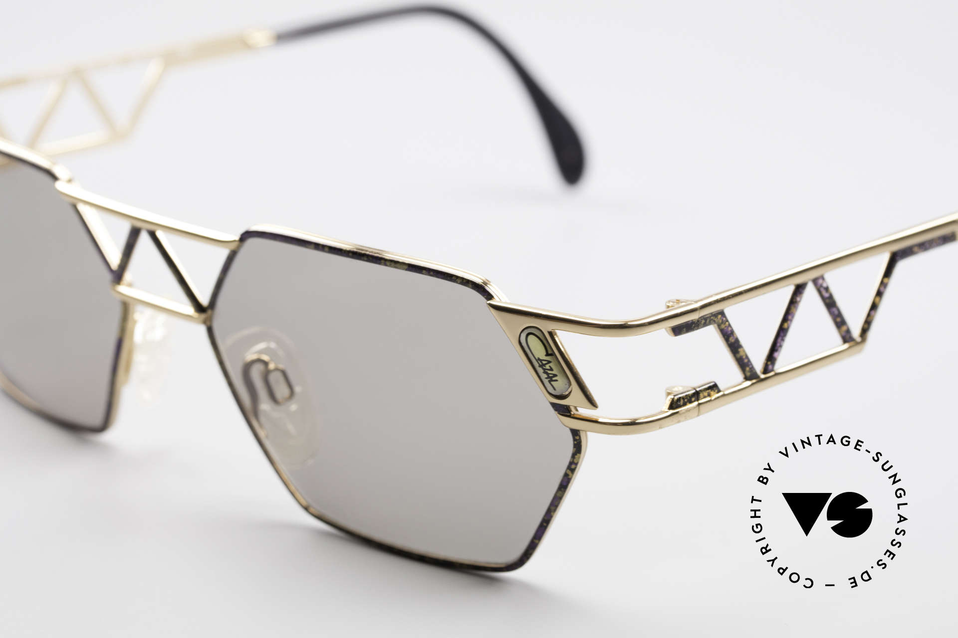 Cazal 960 Unique Designer Sunglasses, new old stock (like all our rare vintage Cazal eyewear), Made for Men and Women