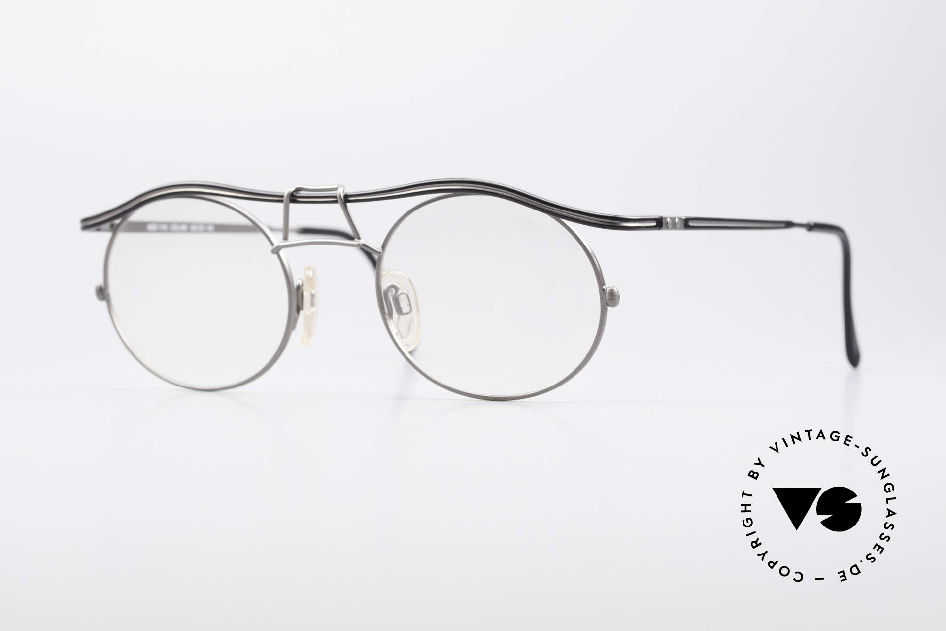 Cazal 1110 - Point 2 90's Industrial Vintage Frame, 1110: one of the top-models of the Cazal Point 2 series, Made for Men