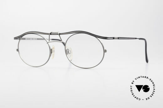 Cazal 1110 - Point 2 90's Industrial Vintage Frame Details