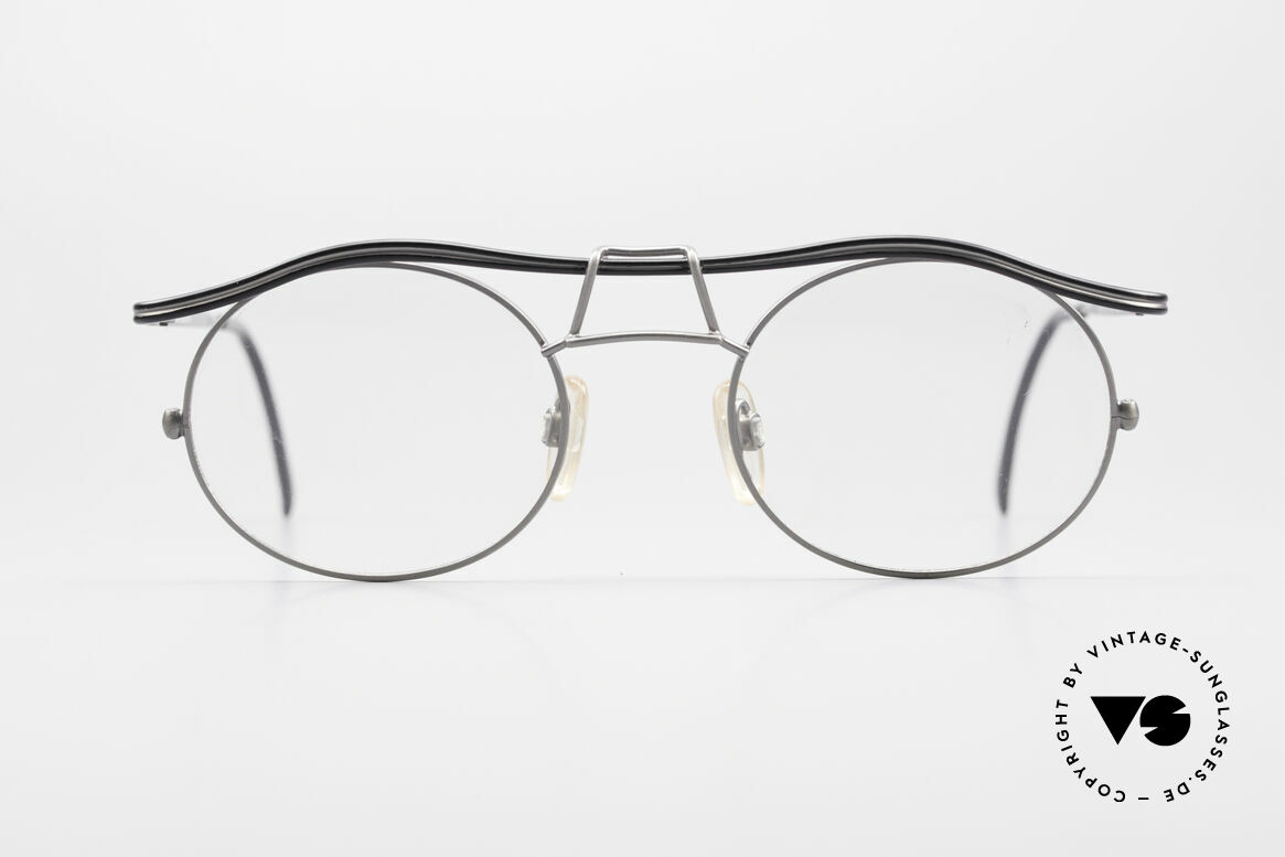 Cazal 1110 - Point 2 90's Industrial Vintage Frame, the frame recalls the 90's industrial / steampunk design, Made for Men