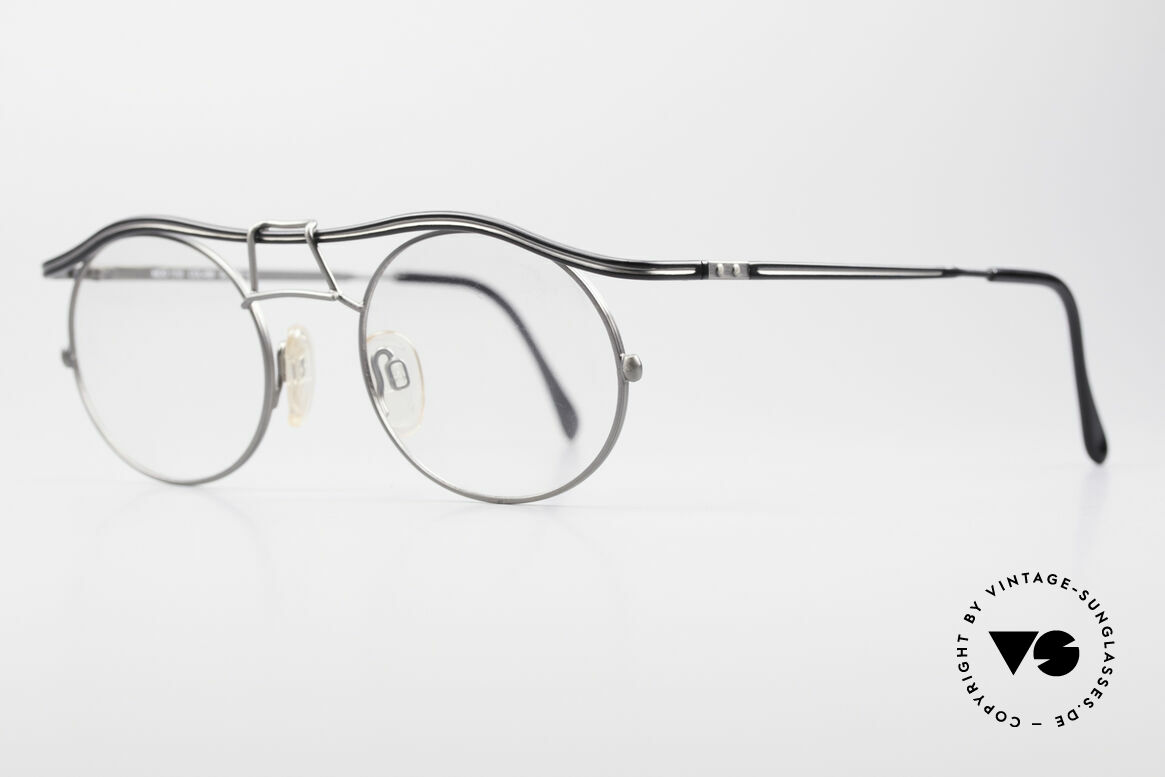 Cazal 1110 - Point 2 90's Industrial Vintage Frame, tangible superior crafting quality (made in GERMANY), Made for Men