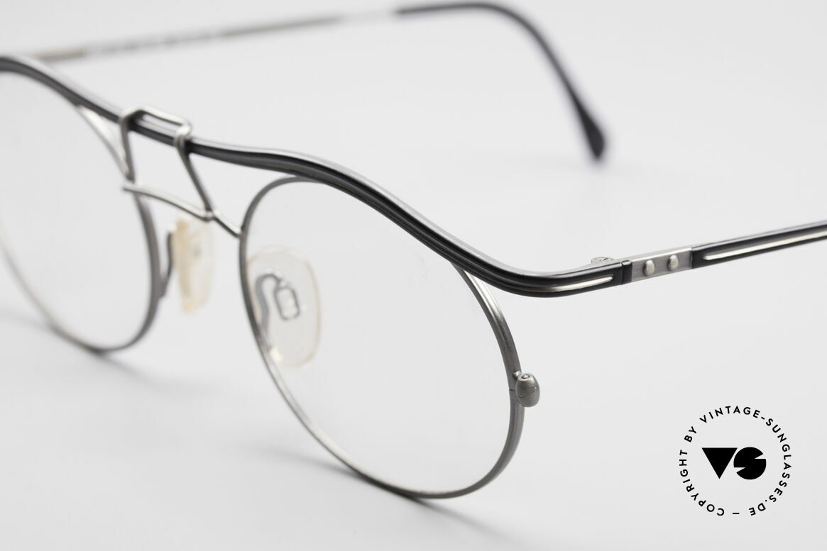 Cazal 1110 - Point 2 90's Industrial Vintage Frame, never worn (like all our rare vintage glasses by CAZAL), Made for Men