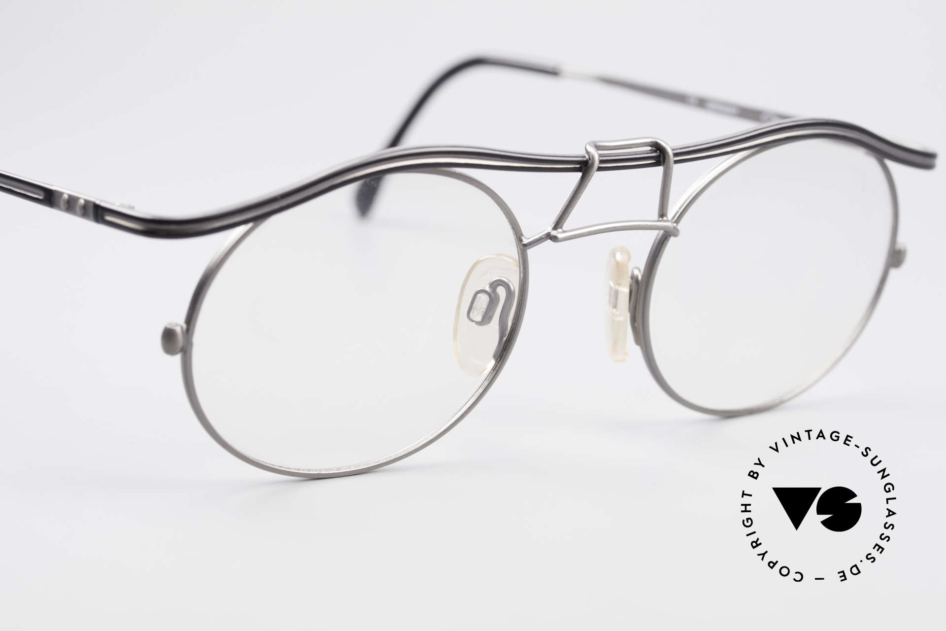 Cazal 1110 - Point 2 90's Industrial Vintage Frame, NO RETRO FASHION; but an old ORIGINAL from 1999, Made for Men