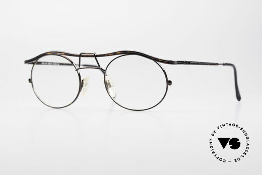 Cazal 1110 - Point 2 90's Industrial Eyeglasses Details