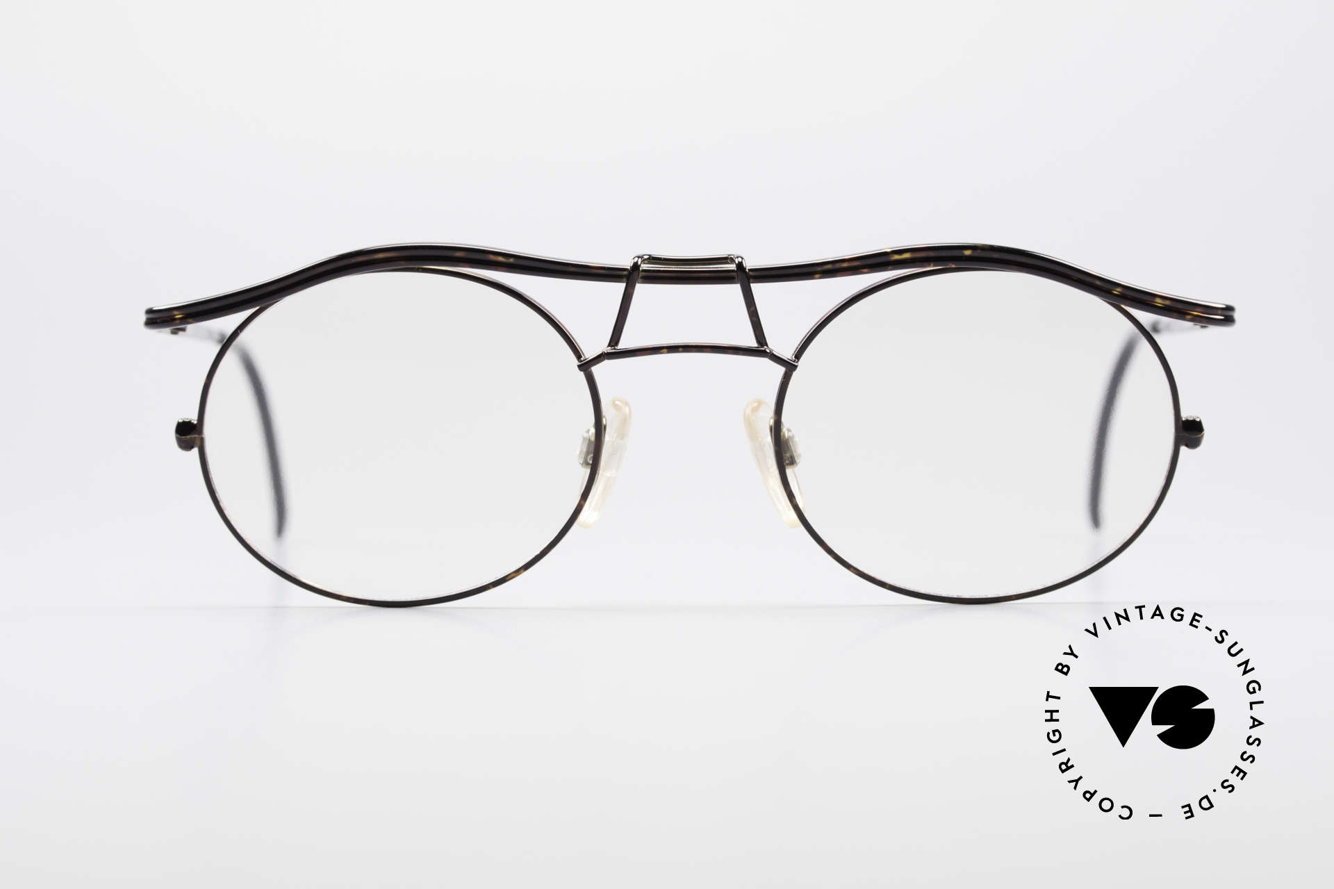 Cazal 1110 - Point 2 90's Industrial Eyeglasses, the frame recalls the 90's industrial / steampunk design, Made for Men
