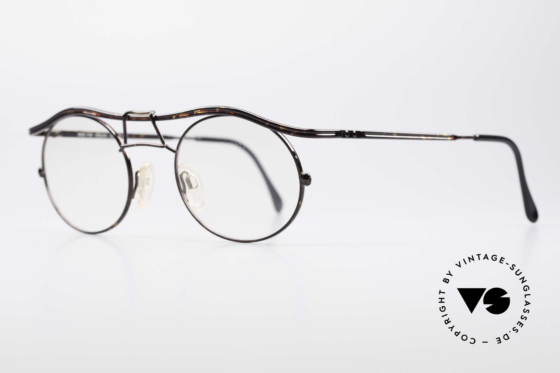 Cazal 1110 - Point 2 90's Industrial Eyeglasses, tangible superior crafting quality (made in GERMANY), Made for Men