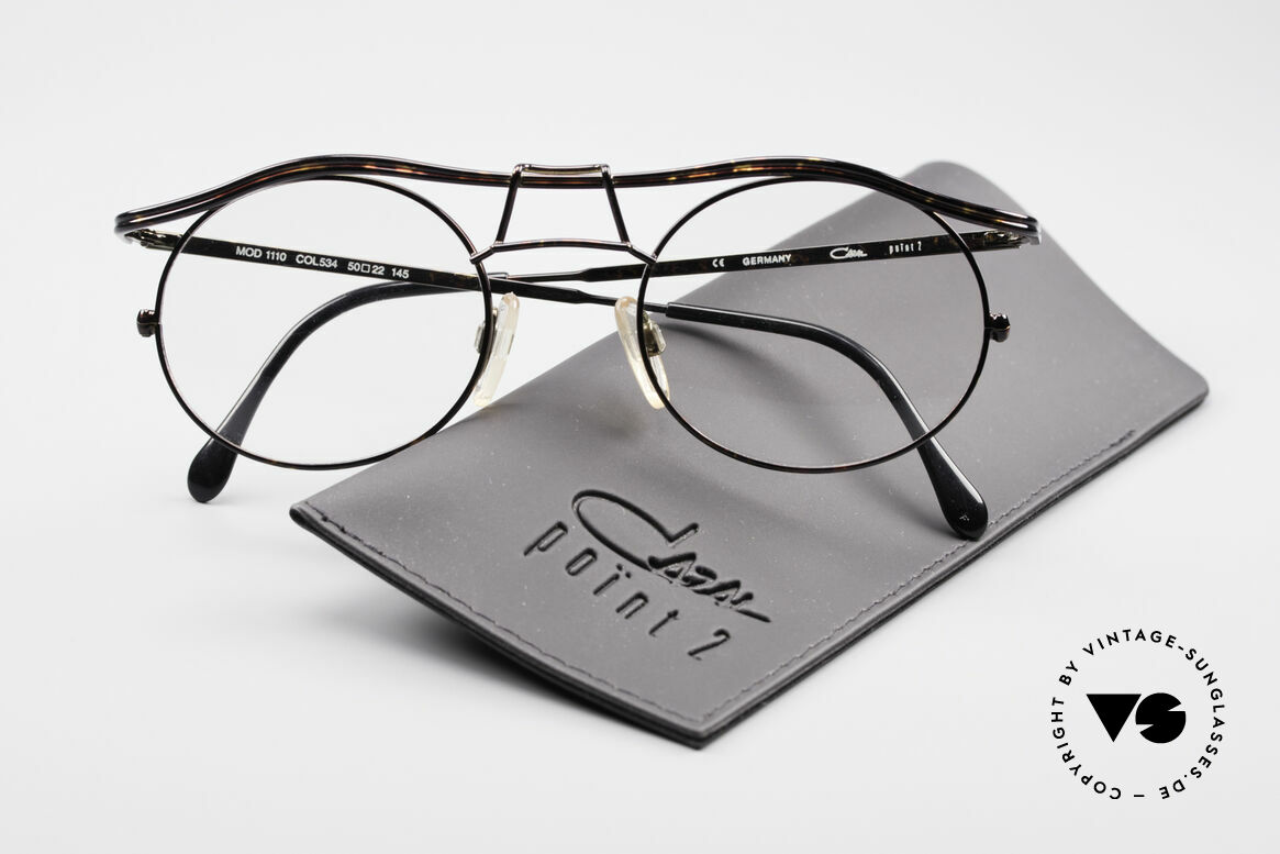 Cazal 1110 - Point 2 90's Industrial Eyeglasses