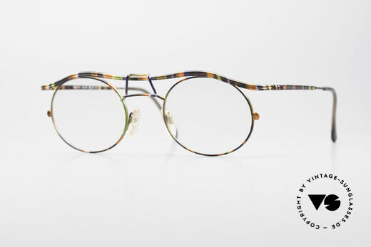 Cazal 1110 - Point 2 90's Industrial Eyeglass-Frame Details