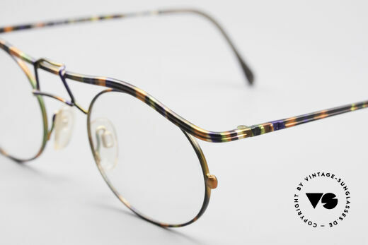 Cazal 1110 - Point 2 90's Industrial Eyeglass-Frame
