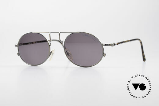 Cazal 1201 - Point 2 90's Industrial Style Frame Details
