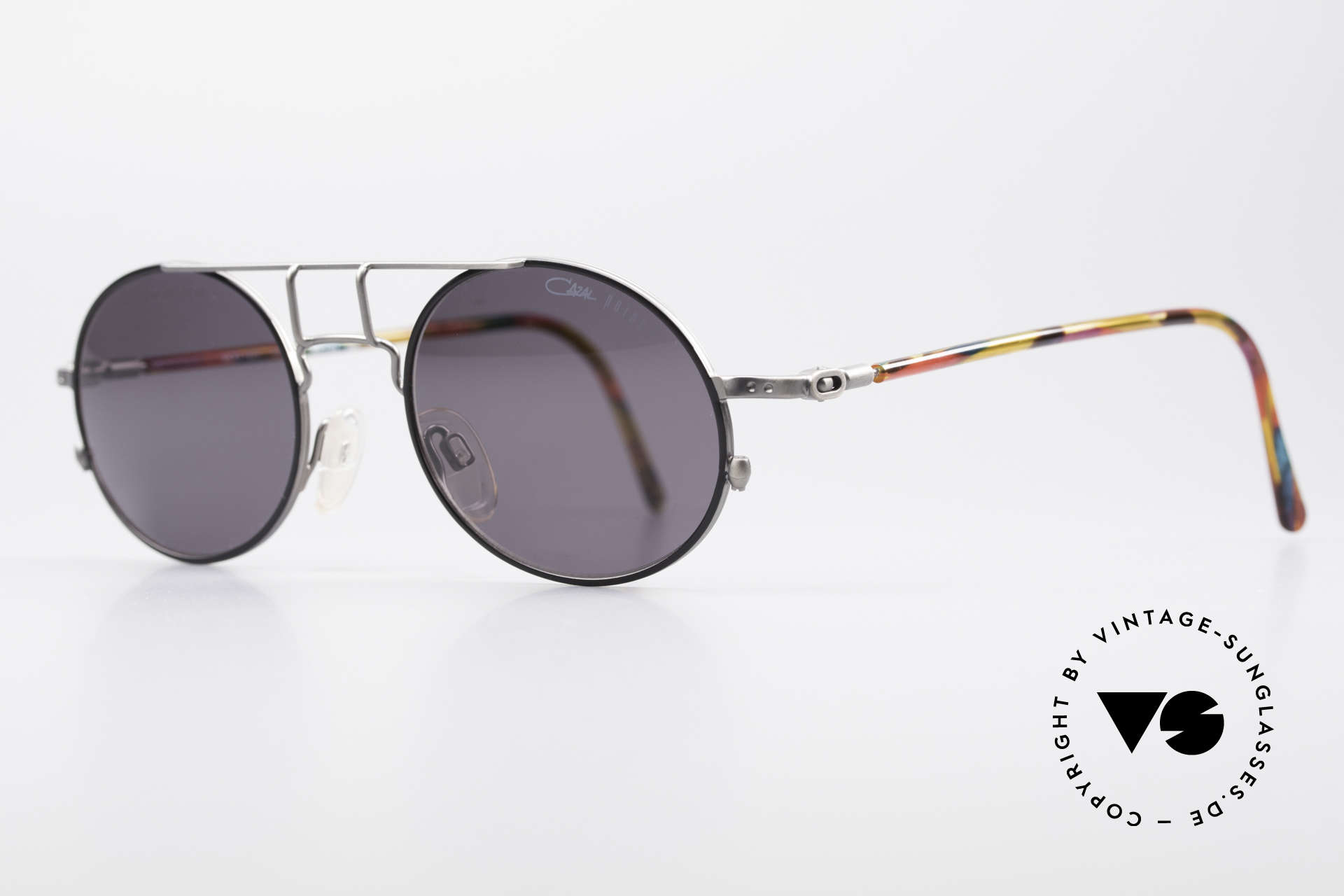 Cazal 1201 - Point 2 90's Industrial Style Shades, tangible superior crafting quality (made in GERMANY), Made for Men