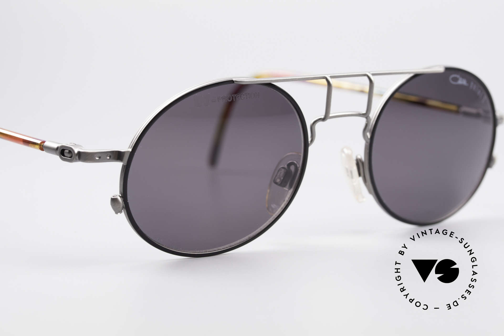 Cazal 1201 - Point 2 90's Industrial Style Shades, NO RETRO FASHION; but an old ORIGINAL from 1999, Made for Men