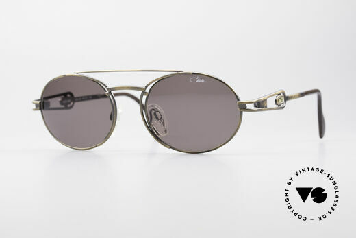 Cazal 965 Oval Steampunk Style Shades Details
