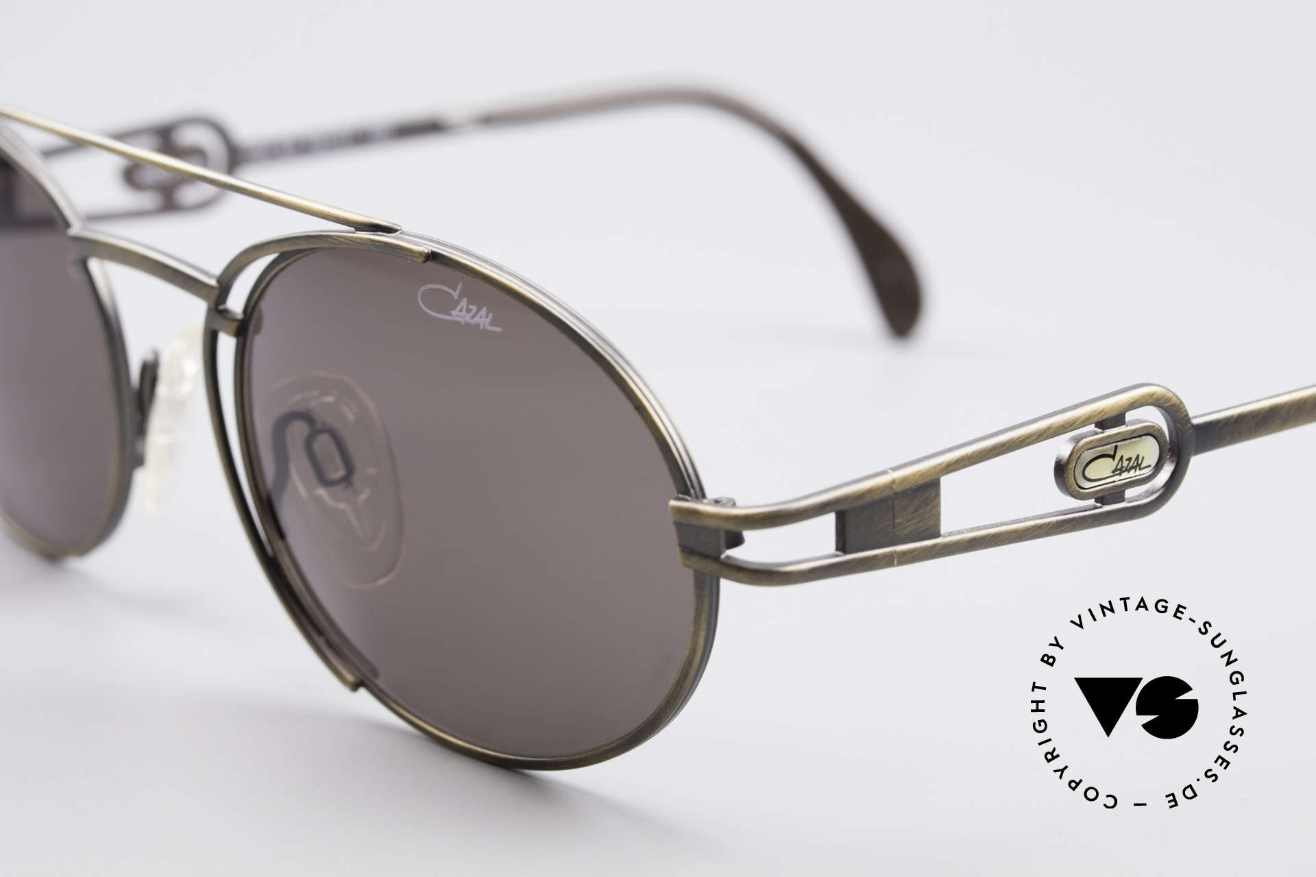 Cazal 965 Oval Steampunk Style Shades, never used, NOS (like all our vintage CAZAL eyewear), Made for Men and Women