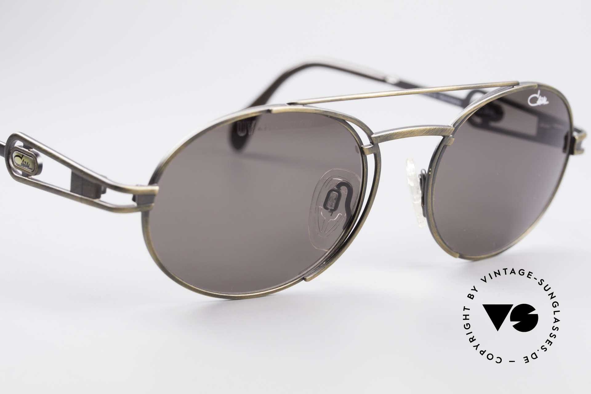 Cazal 965 Oval Steampunk Style Shades, NO RETRO sunglasses, but an authentic old ORIGINAL, Made for Men and Women