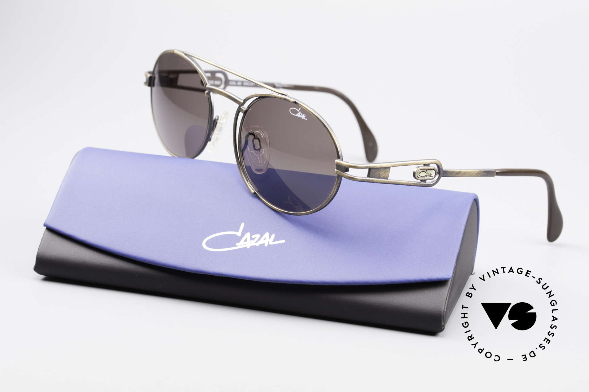Cazal 965 Oval Steampunk Style Shades, Size: large, Made for Men and Women