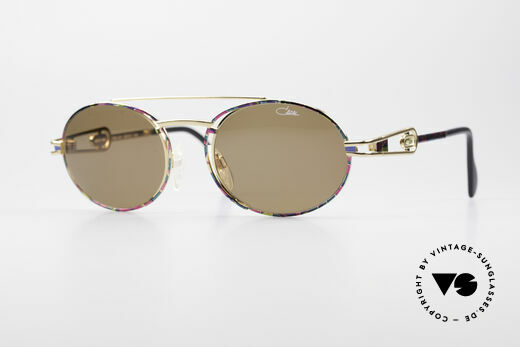 Cazal 965 90's Steampunk Style Shades Details