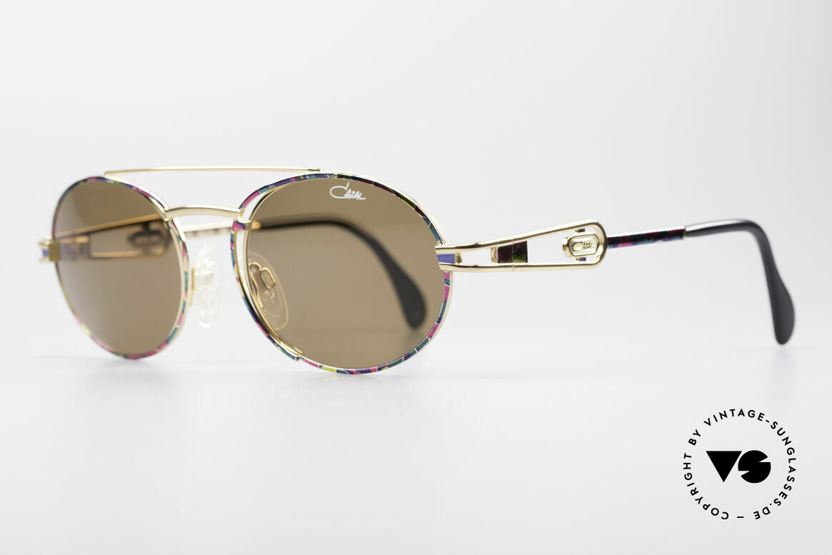 Cazal 965 90's Steampunk Style Shades, outstanding quality (You must feel it!); - monolithic!, Made for Men and Women