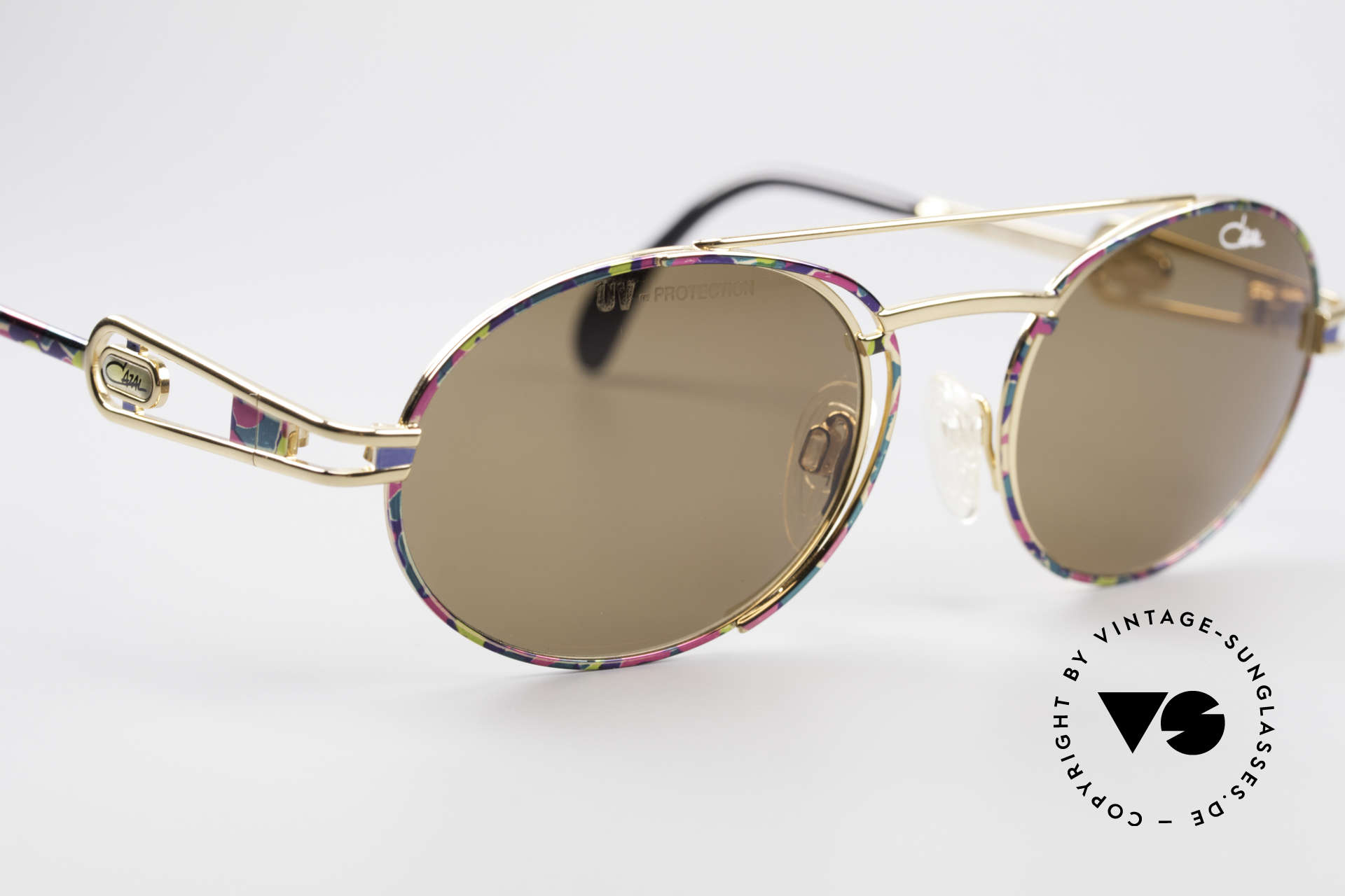 Cazal 965 90's Steampunk Style Shades, NO RETRO sunglasses, but an authentic old ORIGINAL, Made for Men and Women