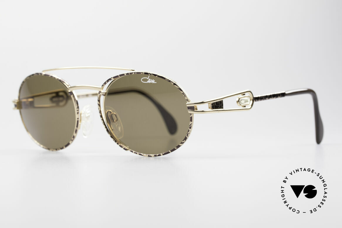 Cazal 965 90s Steampunk Oval Shades, outstanding quality (You must feel it!); - monolithic!, Made for Men and Women
