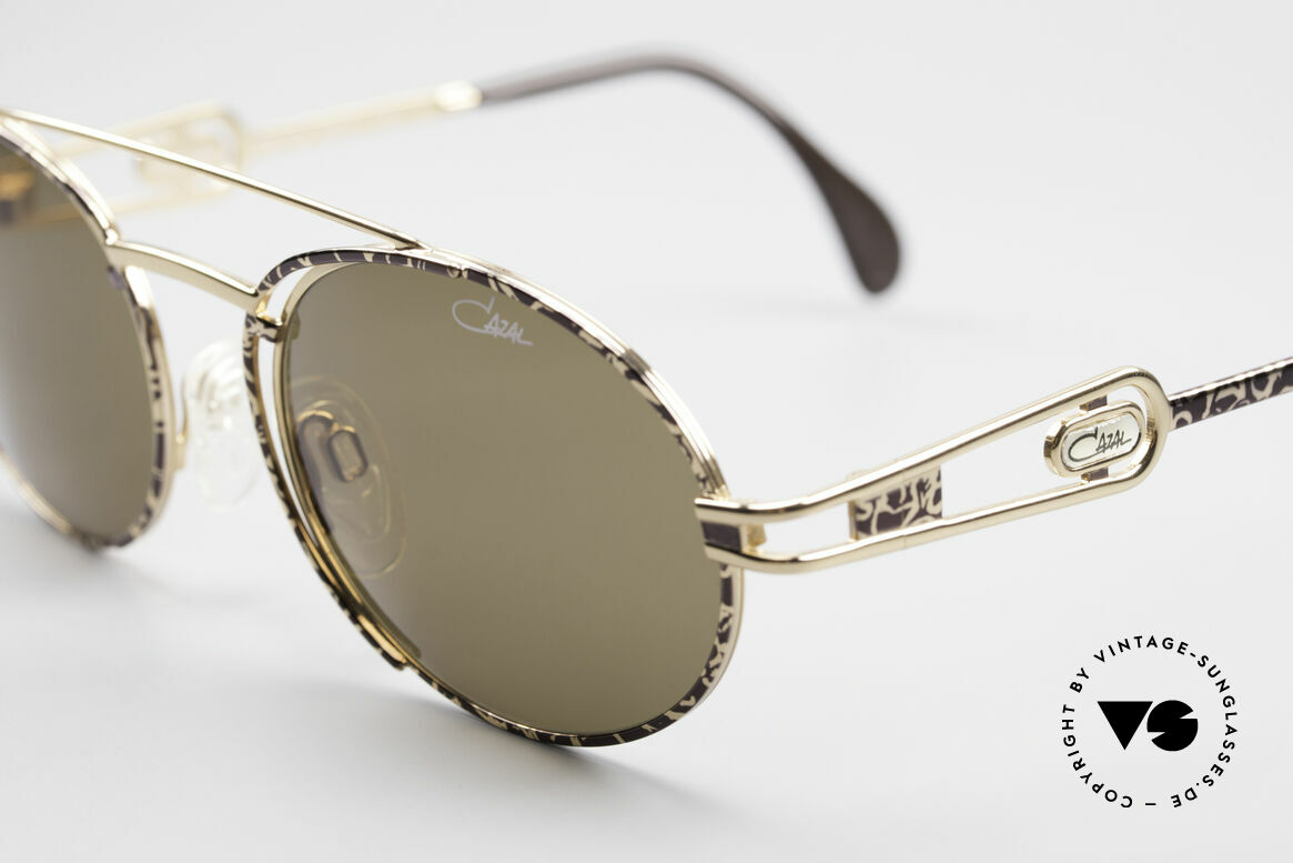 Cazal 965 90s Steampunk Oval Shades, never used, NOS (like all our vintage CAZAL eyewear), Made for Men and Women