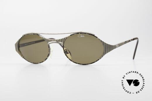 Cazal 978 Vintage Designer Sunglasses Details