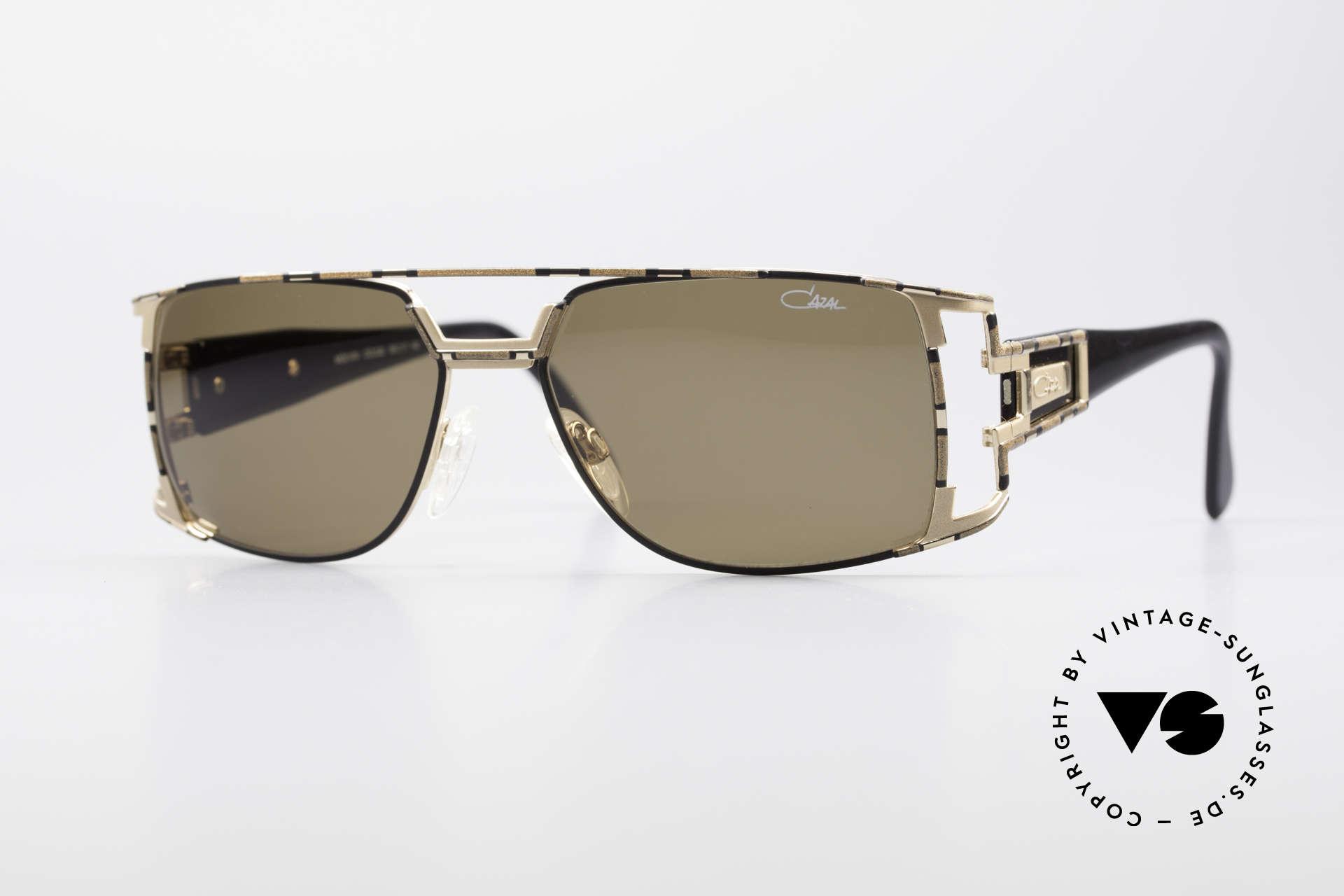 Cazal 974 Unisex Design Men Women, vintage CAZAL unisex designer sunglasses from 1997, Made for Men and Women