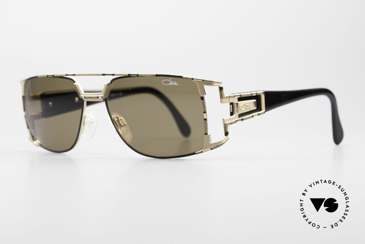 Cazal 974 Unisex Design Men Women, in addition a very elegant color concept: bronze/gold, Made for Men and Women