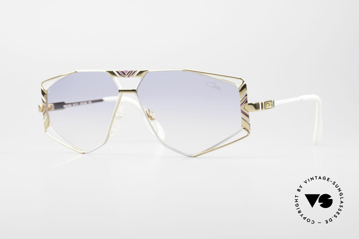 Cazal 956 Cari Zalloni Sunglasses, artistic Cazal designer sunglasses from 1989/90, Made for Men and Women