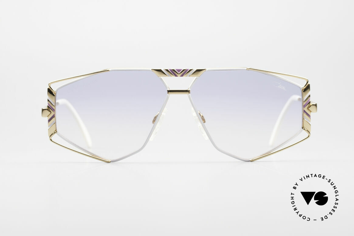 Cazal 956 Cari Zalloni Sunglasses, fancy lens shape and many lovely frame details, Made for Men and Women