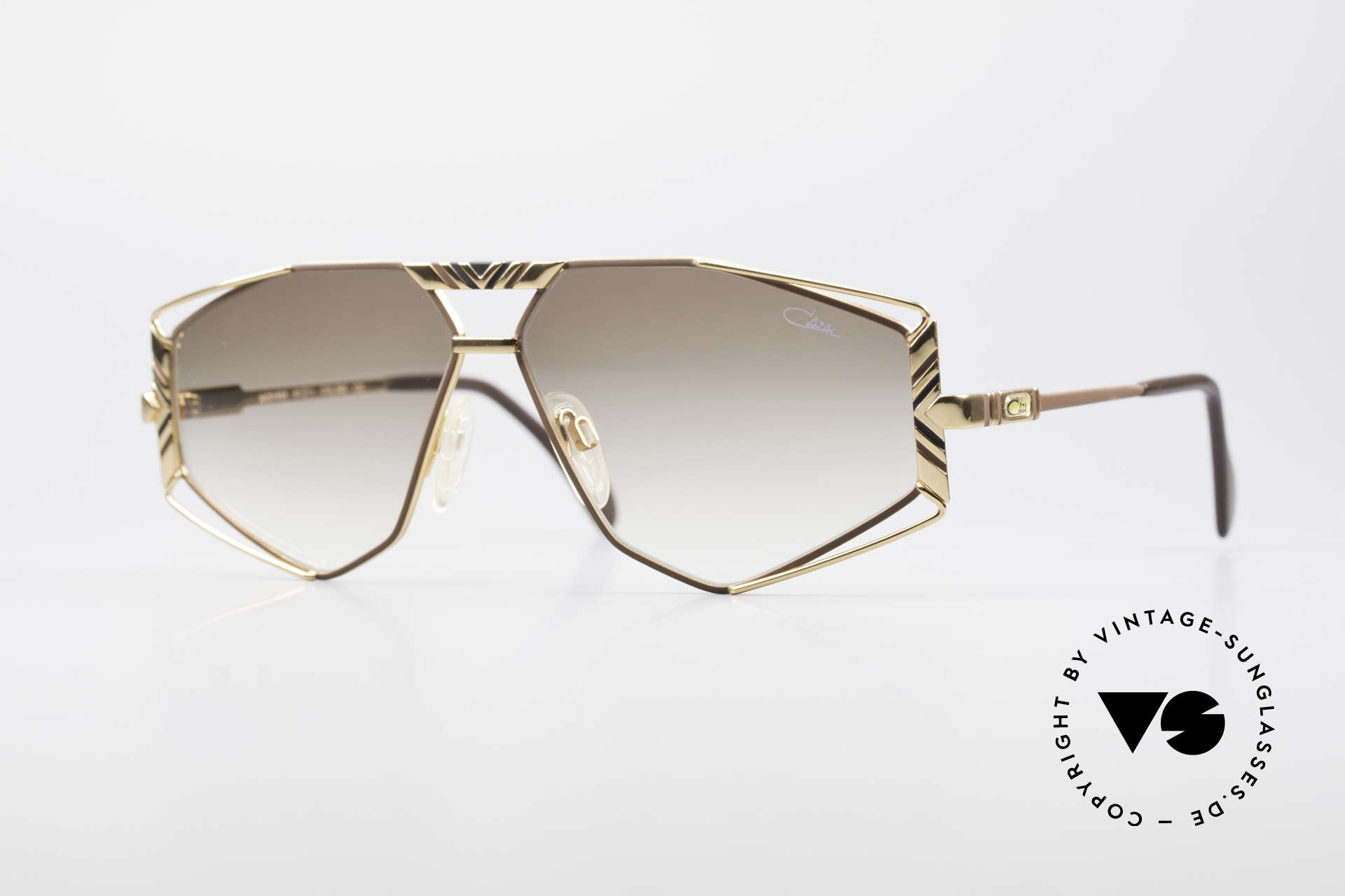 Cazal 956 Cari Zalloni Vintage Frame, artistic Cazal designer sunglasses from 1989/90, Made for Men and Women