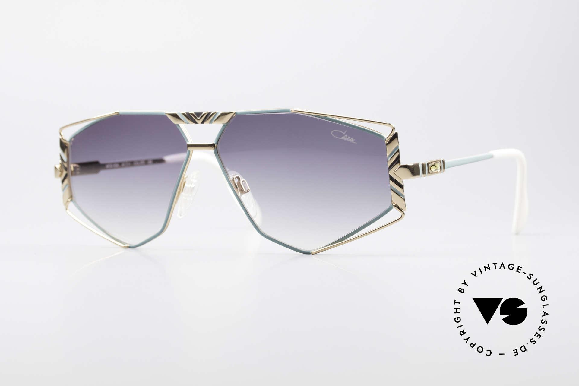 Cazal 956 Cari Zalloni Vintage Shades, artistic Cazal designer sunglasses from 1989/90, Made for Men and Women