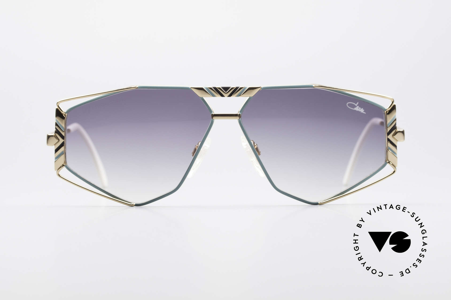 Cazal 956 Cari Zalloni Vintage Shades, fancy lens shape and many lovely frame details, Made for Men and Women
