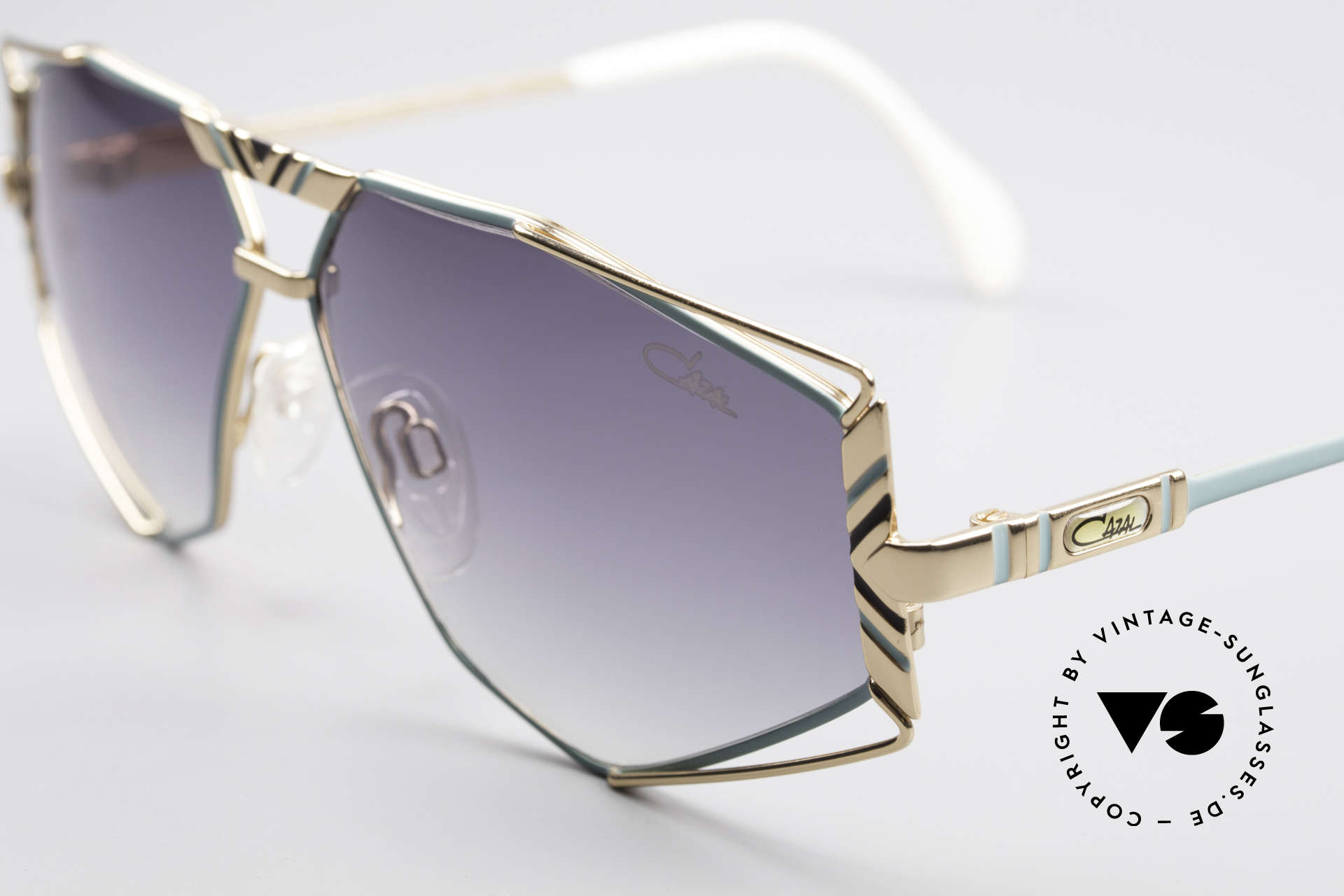 Cazal 956 Cari Zalloni Vintage Shades, new old stock (like all our vintage Cazal sunnies), Made for Men and Women