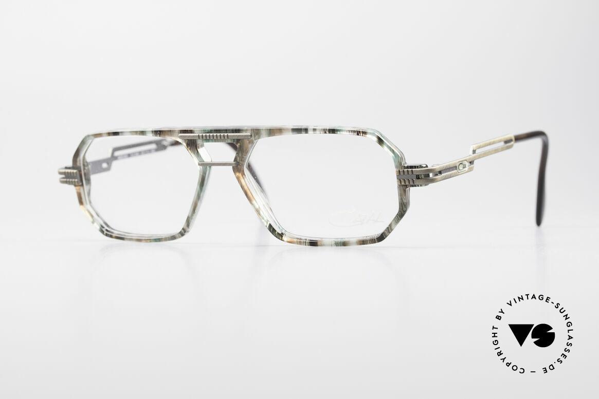 Cazal 651 90's True Vintage Eyeglasses, multi-angular Cazal glasses (interesting frame pattern), Made for Men