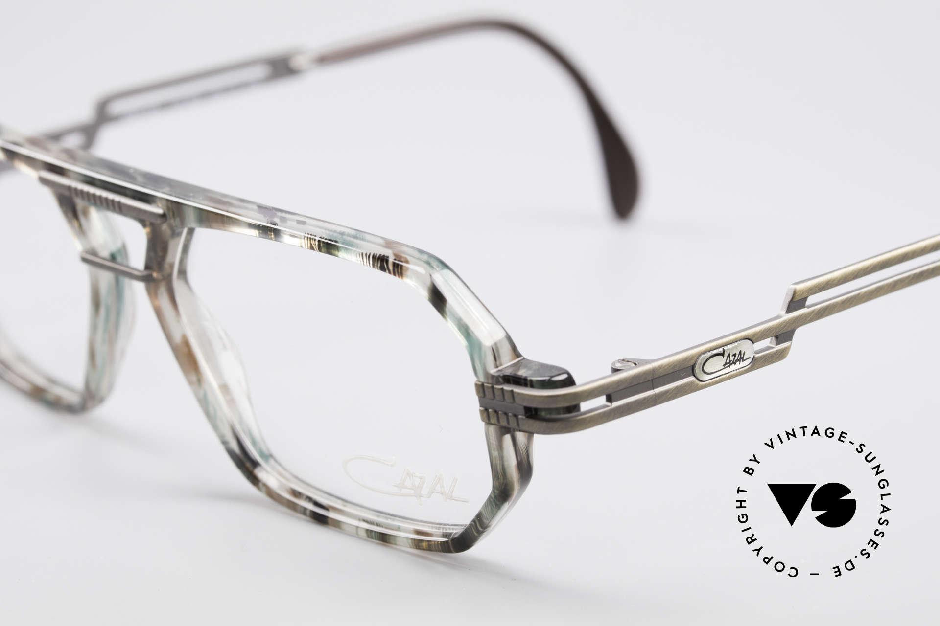 Cazal 651 90's True Vintage Eyeglasses, never worn (like all our vintage Cazal designer glasses), Made for Men