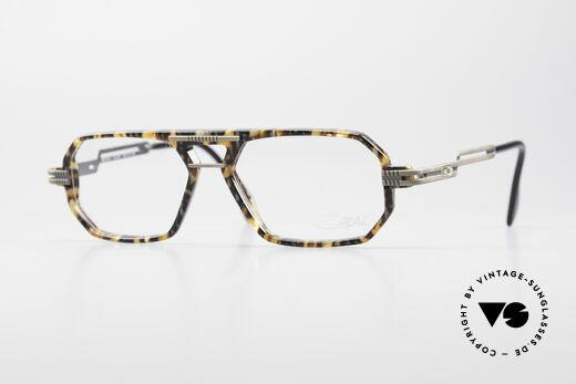 Cazal 651 Rare 90's Vintage Eyeglasses Details