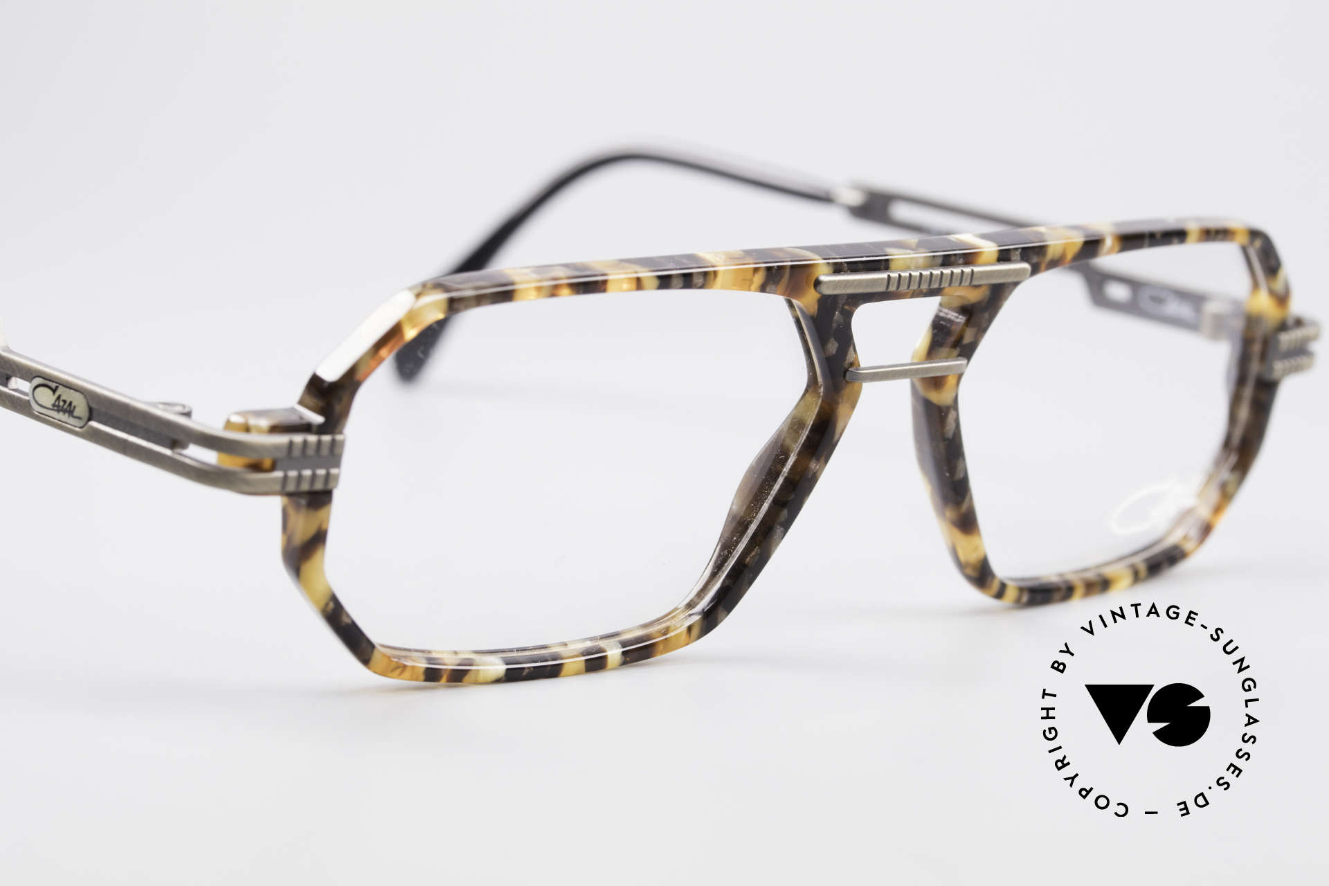Cazal 651 Rare 90's Vintage Eyeglasses, NO RETRO eyeglass-frame, but a 20 years old original, Made for Men