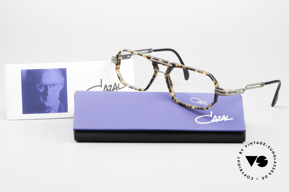 Cazal 651 Rare 90's Vintage Eyeglasses, Size: medium, Made for Men
